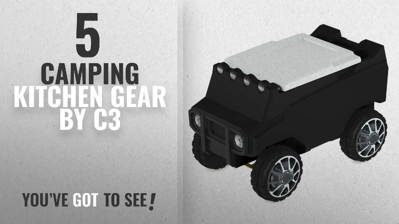 3b8000afb Top 5 C3 Camping Kitchen Gear  2018   C3 Rover Black RC Cooler - YouTube