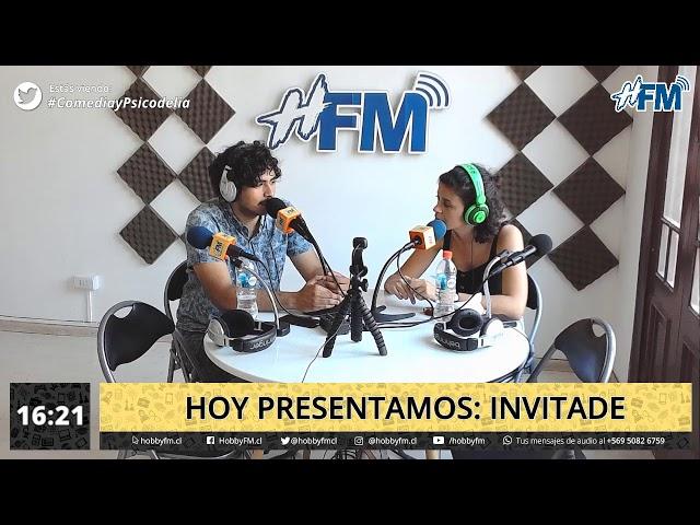 Comedia y Psicodelia / invitade - 05 de diciembre 2019