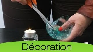 Changer des bouteilles en plastique en fleur