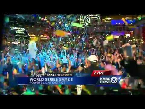 Power & Light District celebrates World Series win