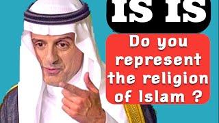 شاهد: ردة فعل «الجبير» تجاه صحفي غربي إتهم الاسلام بداعش