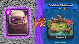 Clash Royale | GOLEM TROLLING ARENA 1! | *FUNNY MOMENTS* (Drop Trolling #33)