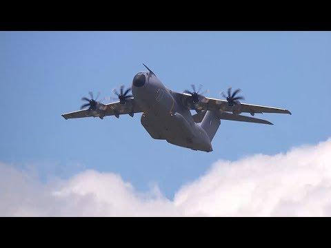 A400M «Atlas», le titan des démos vol