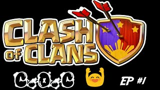 Clash Of Clans | Ep #1 | Road To 1250 Trophies And TH 7 Max And 8 | 2 Attacks | Gaming Center