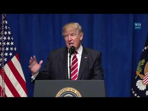 CENTCOM - President Trump's Speech - 02/06/2017 - MacDill AirForce Base in Tampa