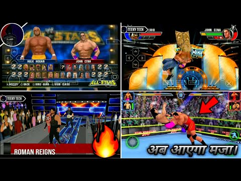 🔥Wow! 100Mb Top-5 Best Lite Wwe Games For Android Hd High Graphics | Best Wwe Games 2019