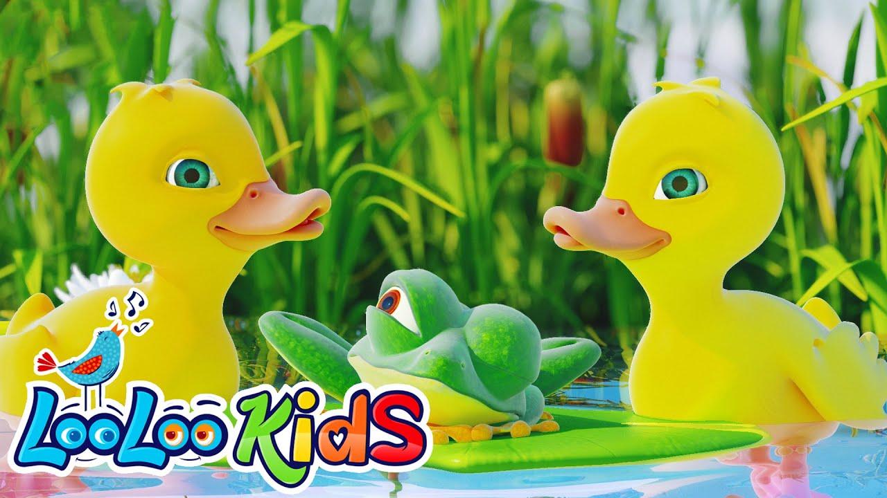 Five Little Ducks - THE BEST Songs for Children | LooLoo Kids