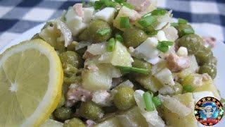 Салат из Печени Трески. Вкуснятина !