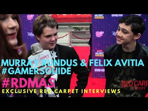 Murray Rundus & Felix Avitia GamersGuide at the 2016 Radio Disney Music Awards RDMAs