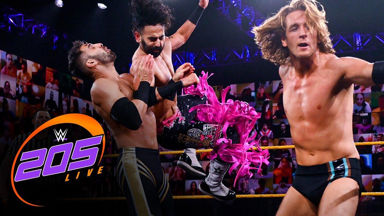 Curt Stallion & Ever-Rise vs. Ariya Daivari & The Bollywood Boyz: 205 Live, Jan. 1, 2021