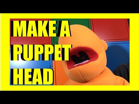 How to Make a Foam Puppet Head: Livestream