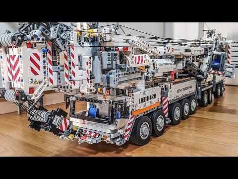 Lego Technic Liebherr LTM 11200 Crane Details MOC By Jeroen Ottens