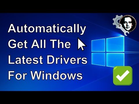 How To Automatically Get All The Latest Drivers For Windows 10/8/7 - 2020 Simple Tutorial