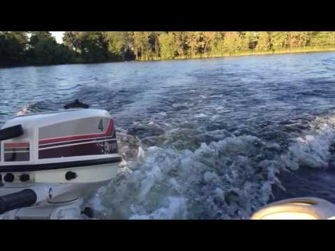 1981 Chrysler 4hp Outboard Motor YouTube