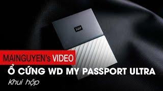 Khui hộp ổ cứng WD My Passport Ultra đời 2017: Ổ cứng HDD đáng mua nhất hiện tại - www.mainguyen.vn