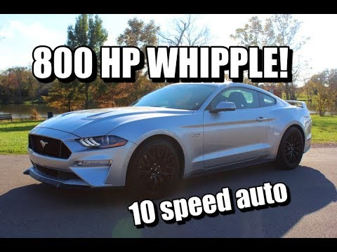 800 HP 2018 10 SPEED AUTO WHIPPLE 5.0 REVIEW!! Fastest Car I've EVER DRIVEN!