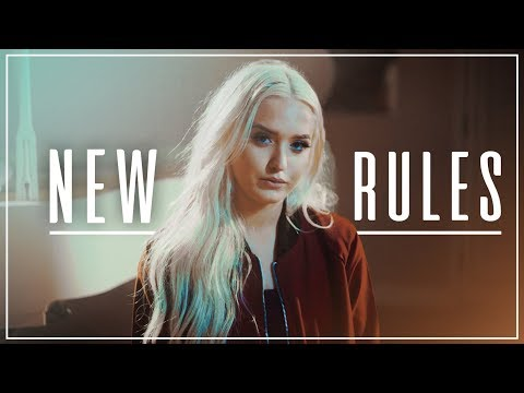 NEW RULES - Dua Lipa | PIANO VERSION! KHS & Macy Kate COVER