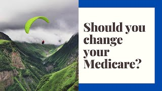 It is Medicare Open Enrollment Right Now.  Do you need to change your coverage?
