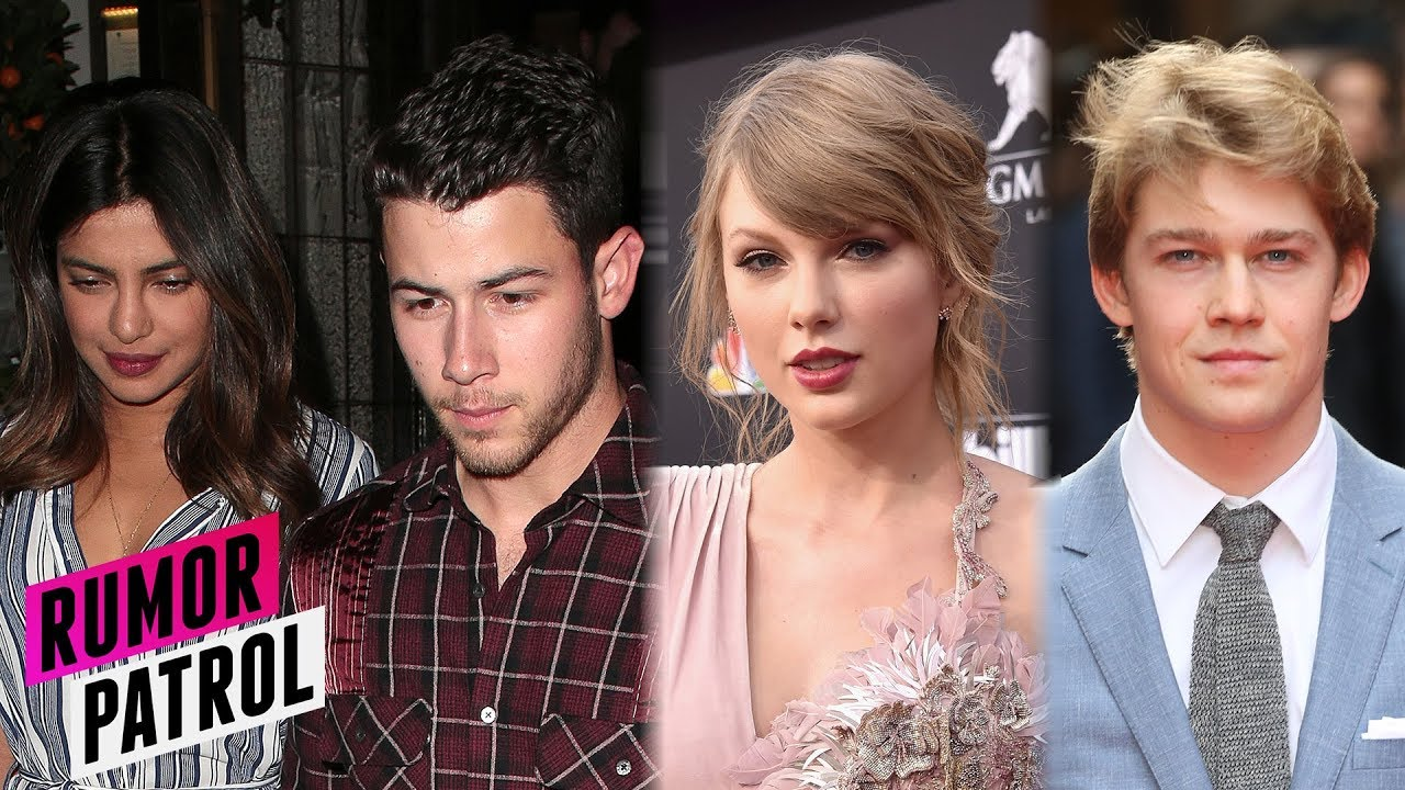 Priyanka Chopra Fakes Nick Jonas Engagement Taylor Swift Joe Alwyn Split Rumor Patrol Youtube