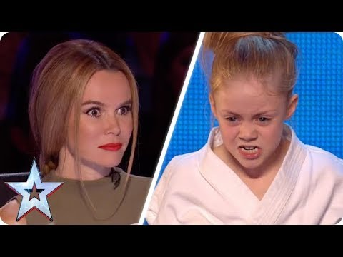 Tiny Karate Kid SHOCKS the Judges! | Britain's Got Talent Unforgettable Audition