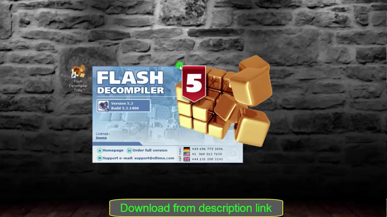 flash decompiler trillix 5.3