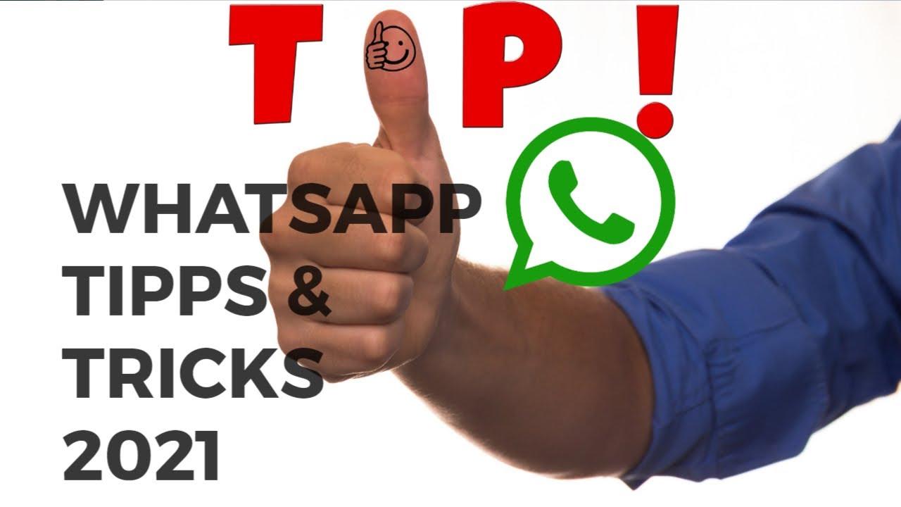 WhatsApp Tipps und Tricks 2021 - YouTube