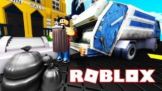 NAJLEPSZY SYMULATOR ŚMIECIARKI! | ROBLOX #admiros