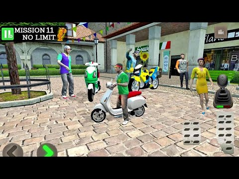 Pizza Delivery Driving Simulator #3 - Bike and Car Games Android gameplay #carsgames