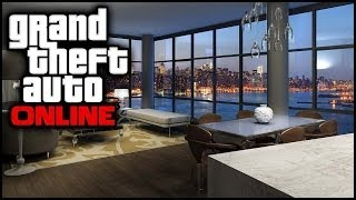 "Gta 5 ""high Life Dlc""  Apartments Layouts New Cars How To Buy 2 Apartments  1.13"