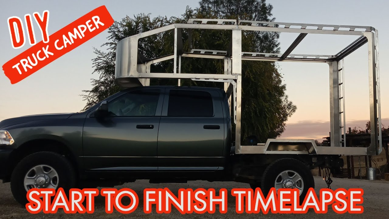 TIMELAPSE- Couple Builds DIY RV (Start To Finish)