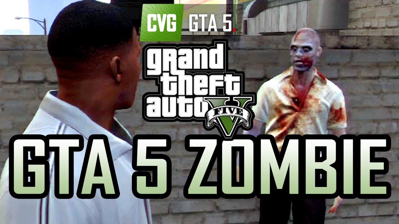 Gta  Gameplay Zombie In Grand Theft Auto