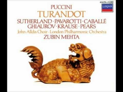 Turandot 15: Act 2 In questa reggia