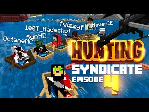FIGHTING THE ENDER DRAGON GONE HORRIBLY WRONG!! (Hunting Syndicate Minecraft Series) - Ep.4