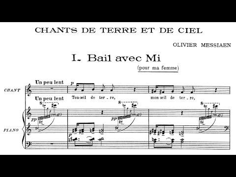 Olivier Messiaen - Chants de terre et de ciel (1937)