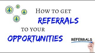 My 2 main FREE tools to get REFERRALS!