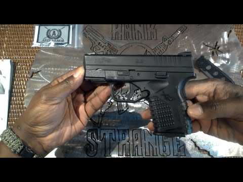Springfield Armory XDS 9mm EDC Pistol Takedown and Reassembly