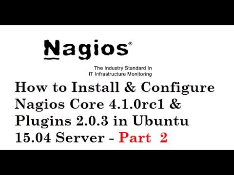 How to Install & Configure Nagios Core 4.1.0rc1 & Plugins 2.0.3 in Ubuntu 15.04 Server - Part  2