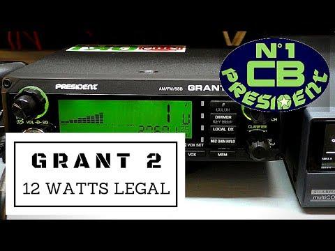 President Grant 2 on 12 watts UK legal power