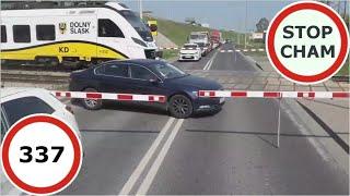 Stop Cham #337 - Niebezpieczne i chamskie sytuacje na drogach