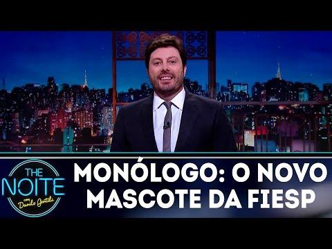 Monólogo: O novo mascote da FIESP | The Noite (20/03/18)