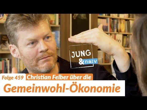 Christian Felber über die Gemeinwohl-Ökonomie - Jung & Naiv: Folge 459