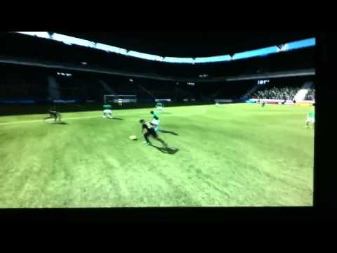 FIFA 12 Afellay brilliant solo goal! (HD)