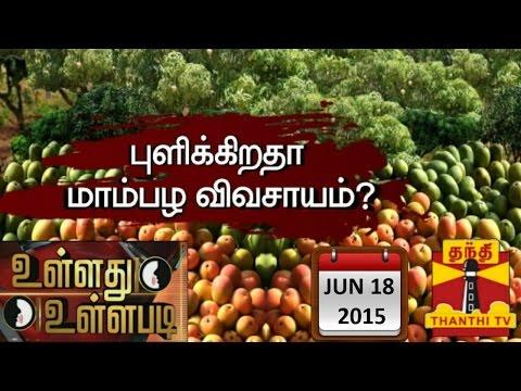 Ullathu Ullapadi - Is Mango Farming turning Sour..? (18/6/2015)