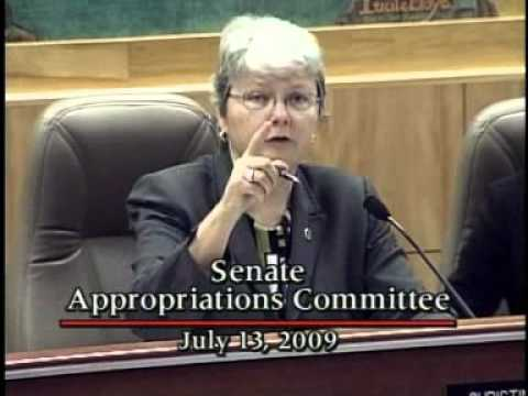 Senate Appropriations Committee Part 2 7/13/2009