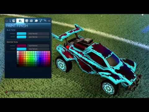 *INSANE* Best SkyBlue Car In Rocket League! *MUST WATCH*