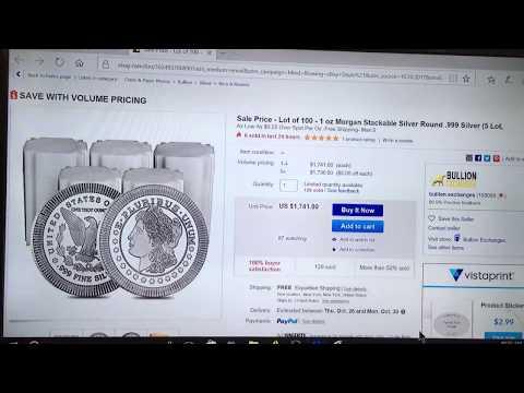 ****Silver Sale Deal Alert***  $0.25 Over Spot