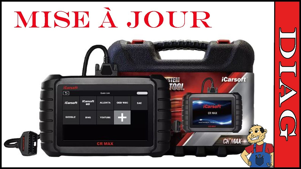 Mise a jour ! iCarsoft CR Max