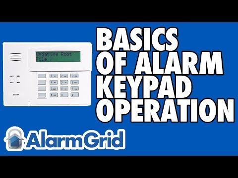 basics-of-alarm-keypad-operation
