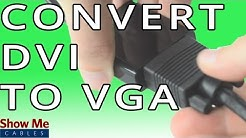 DVI-D to VGA Converter - Change From Digital To Analog #47-300-017