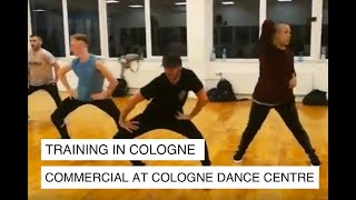 """Dennis Gierga's Class & Choreography """"Hands"""" - Taking class in Cologne"""